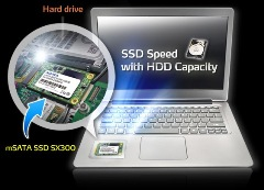 Inspan launches SX300 mSATA Solid State Drive from ADATA 5