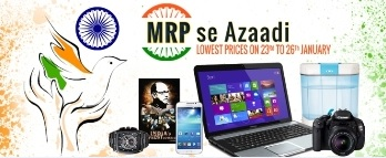 Get products at lowest prices with MRP Se Azaadi Offer on Infibeam.com 2