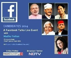 Elections Special: Launching Facebook Talks Live with Top 2014 Contenders 2