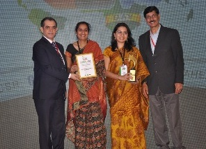 Amdocs India wins 2014 Global CSR Excellence & Leadership Award 1