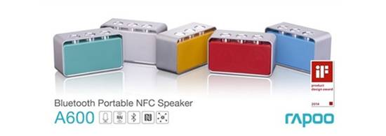 RAPOO launches its portable bluetooth speaker A600 with Radiation Airflow Invert Technology 1