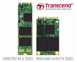 Transcend launches Small Form Factor M.2 and mSATA SSDs for Mobile Computing Devices 1