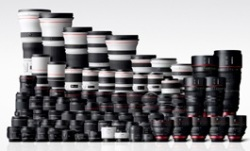 Canon EFlens-series lineup