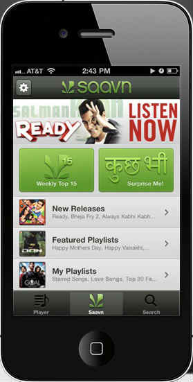 T-Series Music now on Saavn's Mobile App in India 1