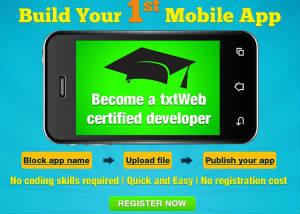 txtWeb-Build-Your-First-App
