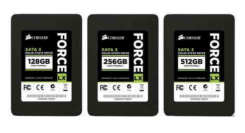 Corsair launches Force Series LX solid-state drives 3