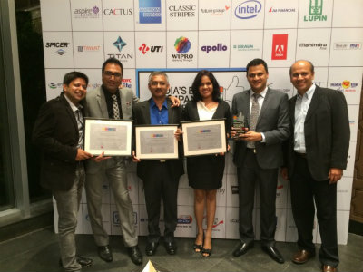 Intuit ranks 8th in India's Best Companies to work for in 2014  2