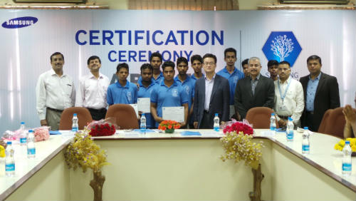 Samsung India and DTTE felicitate first batch of A.R.I.S.E students 2