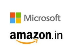 Microsoft-retail-partnership-with-Amazon-India
