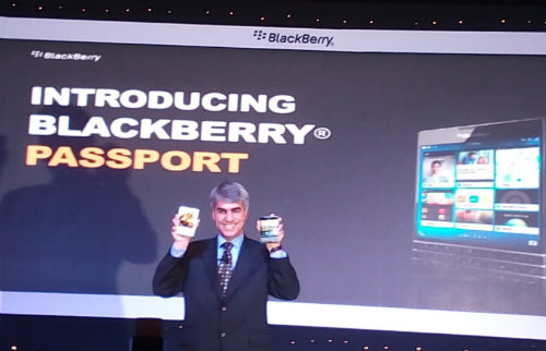 Video Review of Blackberry Passport  4