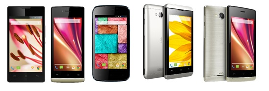 LAVA launches Iris 404 Flair, Iris 400s, Iris250, Iris 410 and Iris 400 Colours smartphones 1