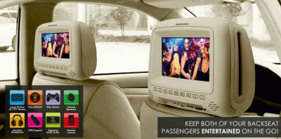 MapmyIndia launches universal car headrest systems - UHMP 900 and UHMC 901 3