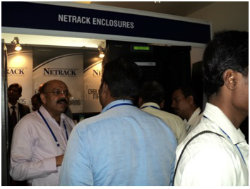 NetRack-Data-Center-Racks-at-BICSI India 2014