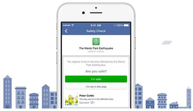 Facebook introducing Safety Check , In times of disaster or crisis 2