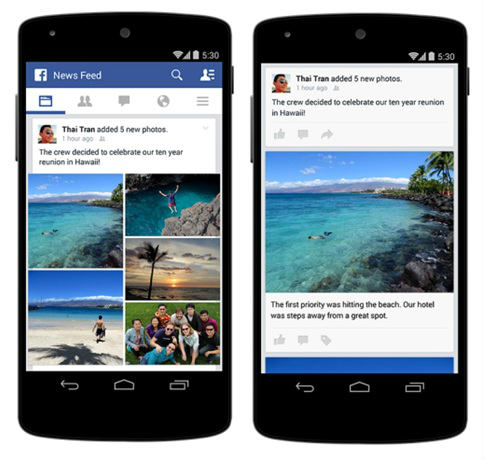 Improvements to Photo Posts on Mobile on Facebook 2