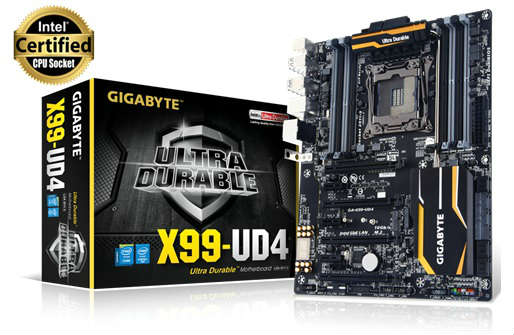 GIGABYTE X99-UD4 - Grand Support for Multiple GPUs, High-speed Storage 1