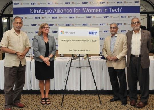 NIIT to partner Microsoft for 'Women in Tech' initiative 2