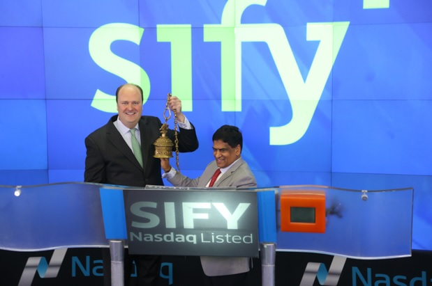Sify Technologies completes 15 years on the NASDAQ 5