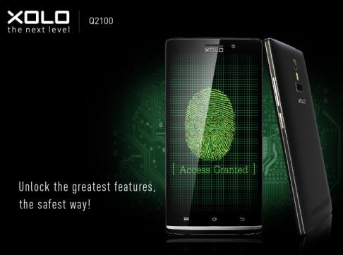 XOLO launches Q2100 with Fingerprint Sensor @ 13,499 3