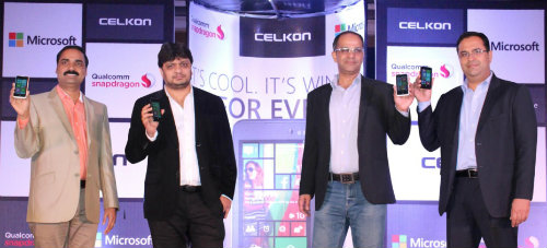 Celkon launches Windows phone WIN400 @ Rs. 4979 2
