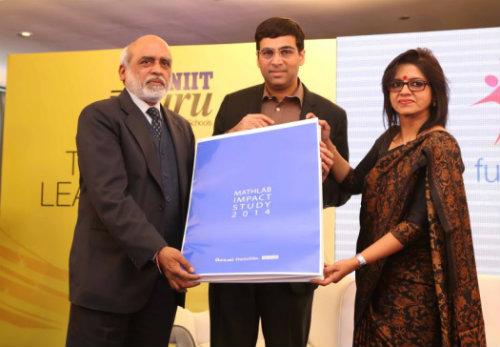 Viswanathan Anand unveils NIIT MathLab Impact Study 4