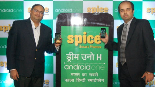 Spice launches Hindi Android One with Google   1
