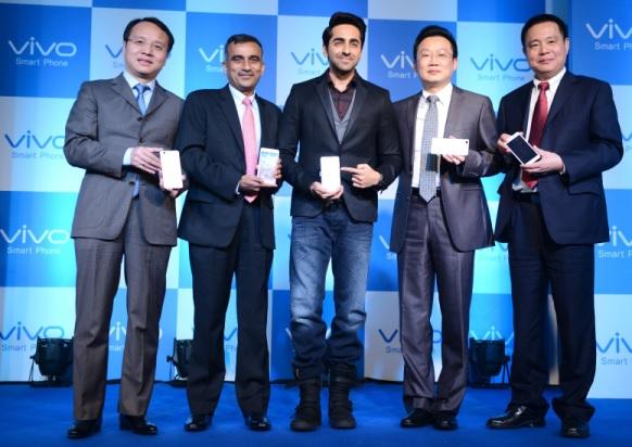 Vivo begins Indian innings with five smartphones priced between INR 7,000-40,000 2