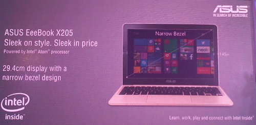 ASUS launches EeeBook X205 @ Rs. 14,999 1