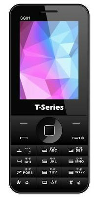T-Series Mobiles launches SG81 @ Rs 1,799 1