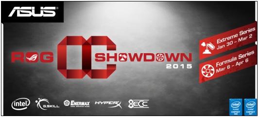 ASUS Republic of Gamers announces OC Showdown 2015 3