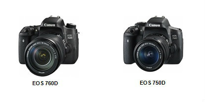 Canon launches two new DSLRs EOS 760D and EOS 750D 1