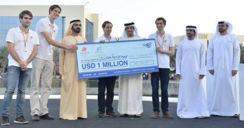 'UAE Drones for Good Award' announces winner  of US$1 million international prize  1