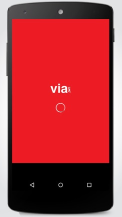 "VIA launches its mobile app- ""VIA's mobile app"" for android 1"