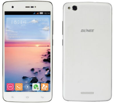 "Gionee launches Its LTE Device ""Gionee CTRL V6L LTE"" @ Rs. 15,000 1"