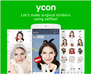 LINE-Selfie-Sticker-Creation-App-ycon
