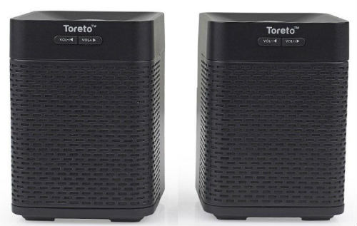 Toreto unveils 'Twins' Bluetooth speakers with Air stereo pairing 4