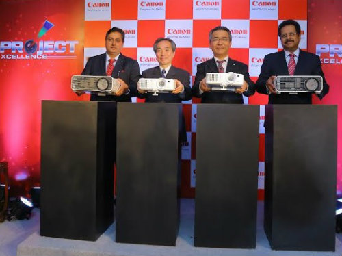 Canon India launches five LV-series and four XEED series projectors 1