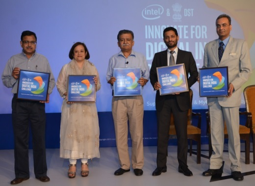 Intel and DST launch the 'Innovate for Digital India' Challenge 2