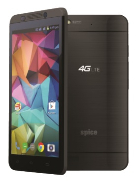 Spice Mobiles launches 4G LTE smartphone – Stellar 519 1