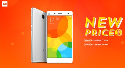 New price for Xiaomi's Mi 4 during Mi Fan Festival in India 2