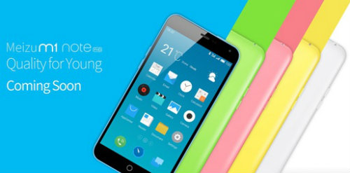 Meizu launches Meizu m1 note in India 2