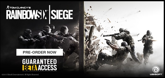 e-xpress games announces closed beta access for 'RAINBOW SIX SIEGE' 1