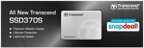 Transcend ties up with Snapdeal to launch all new Aluminium SSD370 3