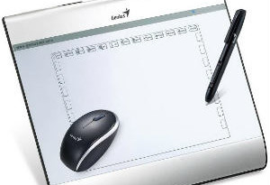 "Genius launches new wireless graphic design tablet ""MousePen -i608x"" 3"