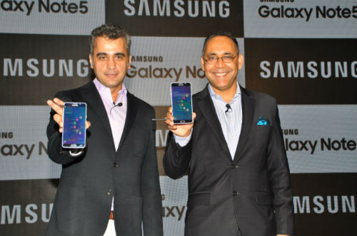 Samsung launches Galaxy Note5 in India 1