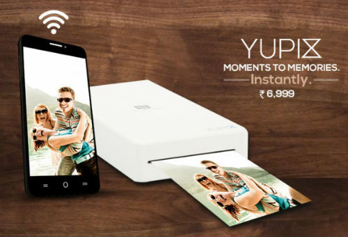 "YU launches its mobile photo printer ""YUPIX"" @ Rs. 6,999 1"