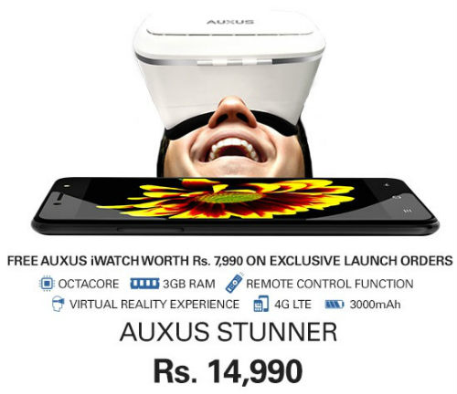 Auxus Stunner launched in India at ebay 1