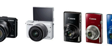 Canon India launches its latest IXUS and Mirrorless series cameras 1