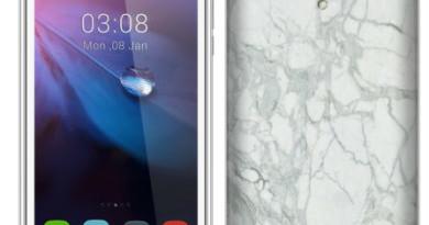 Videocon-new-smartphone-Z45-Dazzle-with-marble-finish