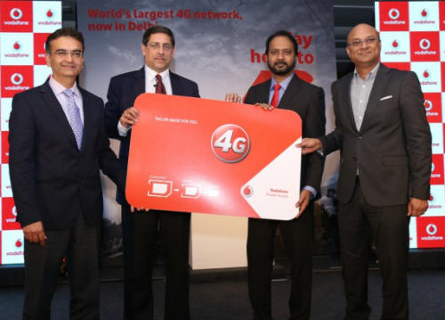 Vodafone India launches 4G services in Delhi & NCR 1